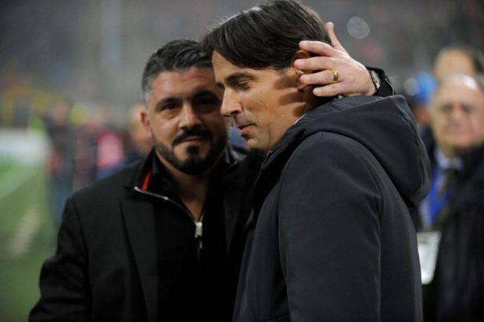 Gattuso Simone Inzaghi