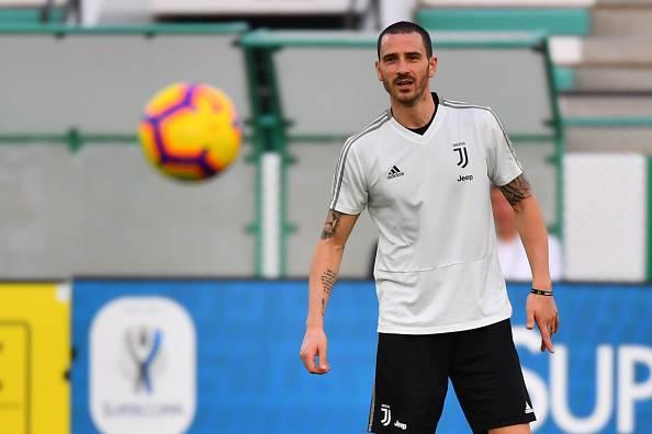 Bonucci Juventus Ronaldo Chiellini