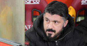 Gennaro Gattuso Milan Cagliari