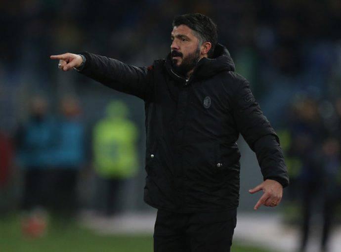 Gattuso Atalanta-Milan