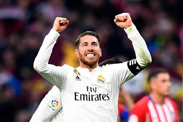 Sergio Ramos Real Madird