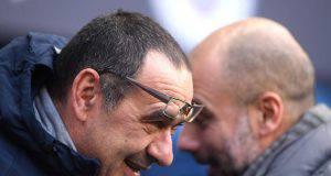 Maurizio Sarri e non Guardiola in panchina alla Juve