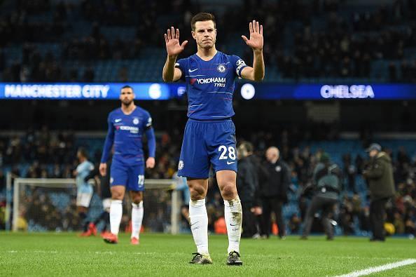 Azpilicueta Sarri Manchester City Chelsea