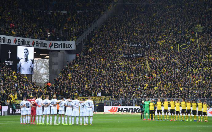 Il muro giallo di Dortmund