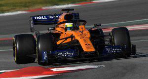 Lando Norris McLaren Formula 1 2019 Test