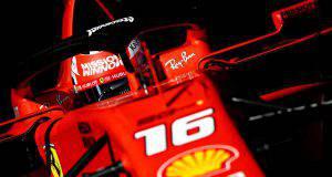 Leclerc Charles Ferrari Test Barcellona F1
