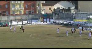 Lo scempio nel match tra Cuneo e Pro Piacenza in Lega Pro