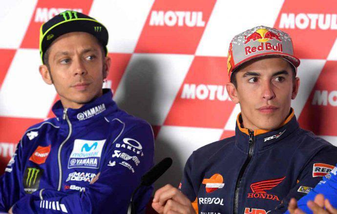 Marc Marquez Valentino Rossi MotoGP