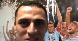Messaggio di Romulo su Twitter ai tifosi della Lazio