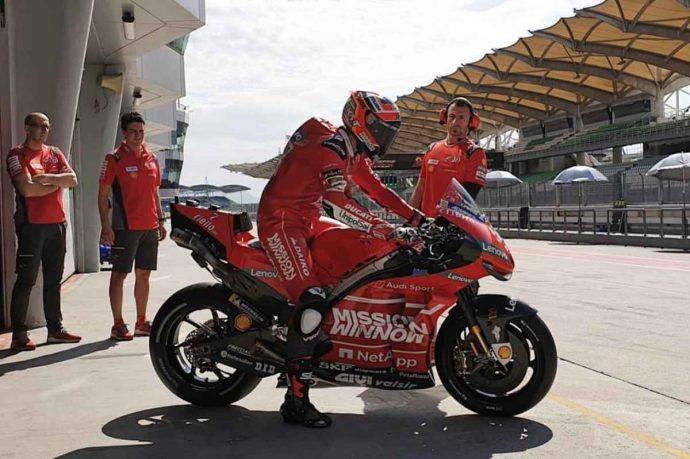 Michele Pirro MotoGP Test Sepang Ducati