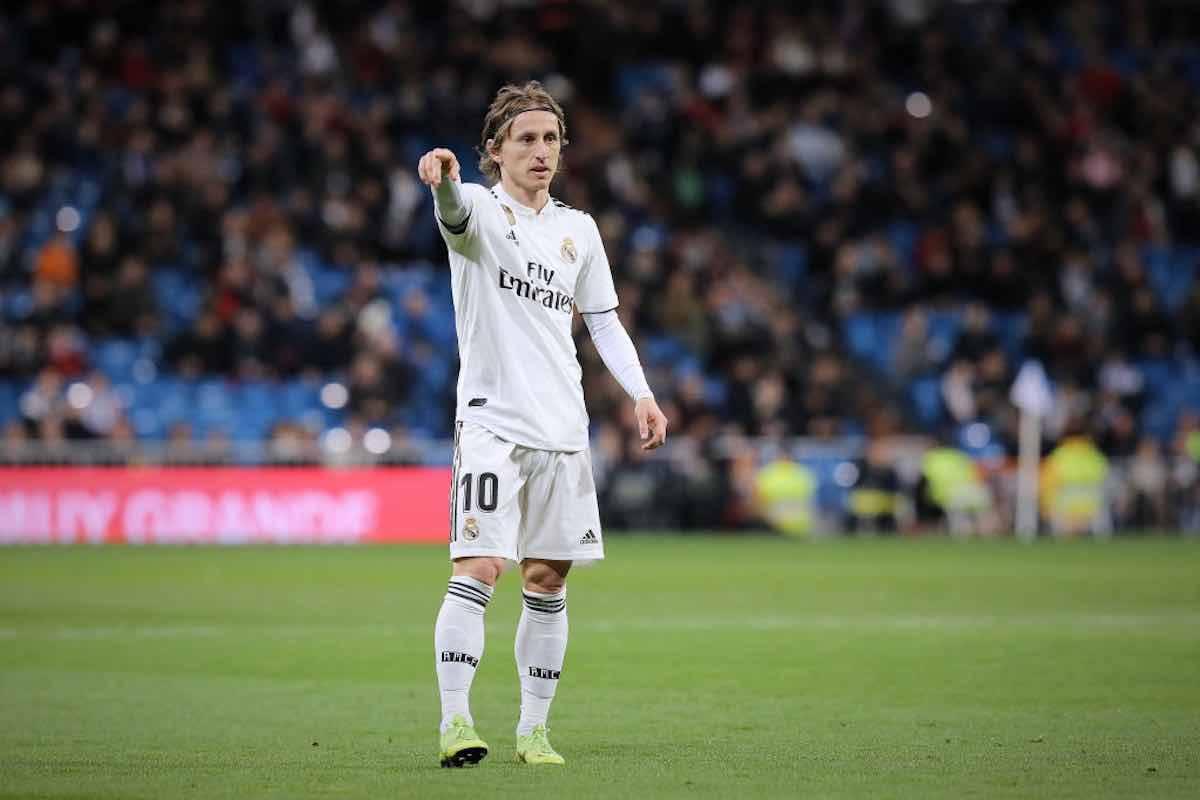 Modric calciomercato Real Madrid rinnovo