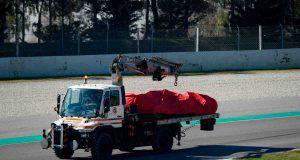 Ferrari SF90 Sebastian Vettel test Barcellona F1
