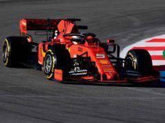 Vettel Ferrari F1 Formula 1 Test Barcellona Ferrari