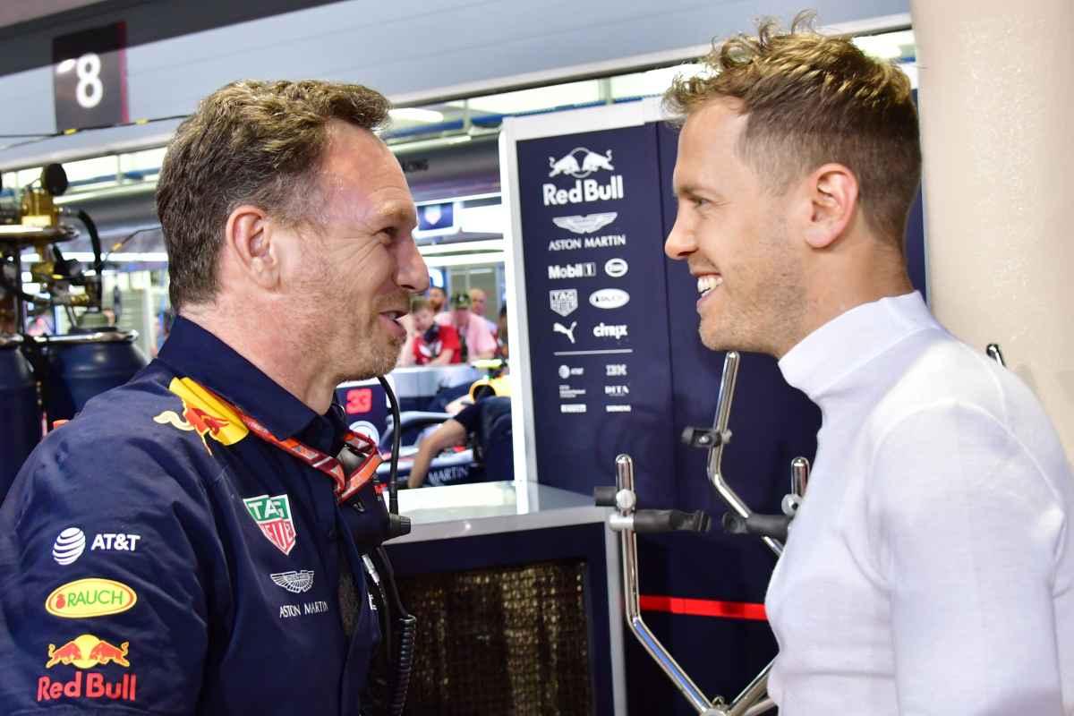 Vettel Horner F1 Formula 1 2019