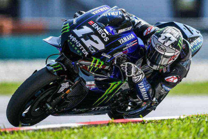 Vinales test MotoGP sepang Yamaha