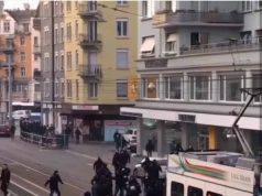 Zurigo-Napoli scontri