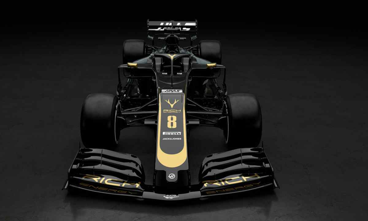 rich energy haas team f1 formula 1 2019