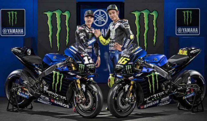 rossi vinales yamaha m1 2019 MotoGP