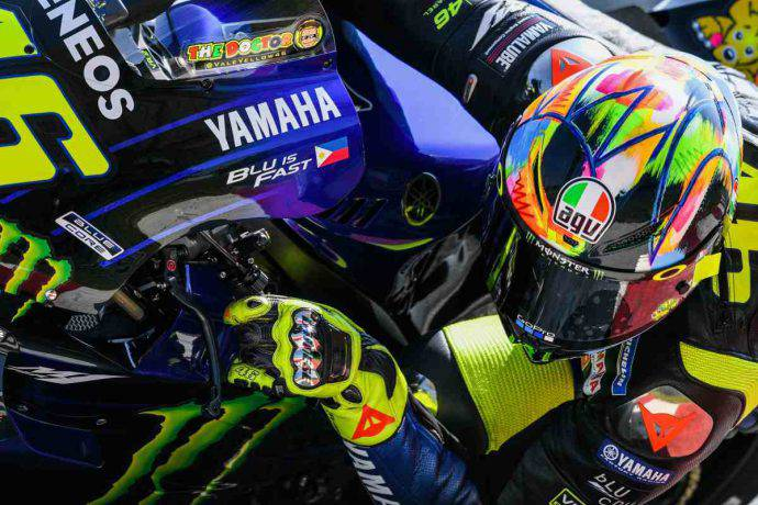 valentino rossi motogp test 2019 sepang yamaha