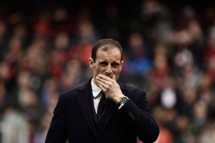 Allegri Juventus post gara contro il Genoa