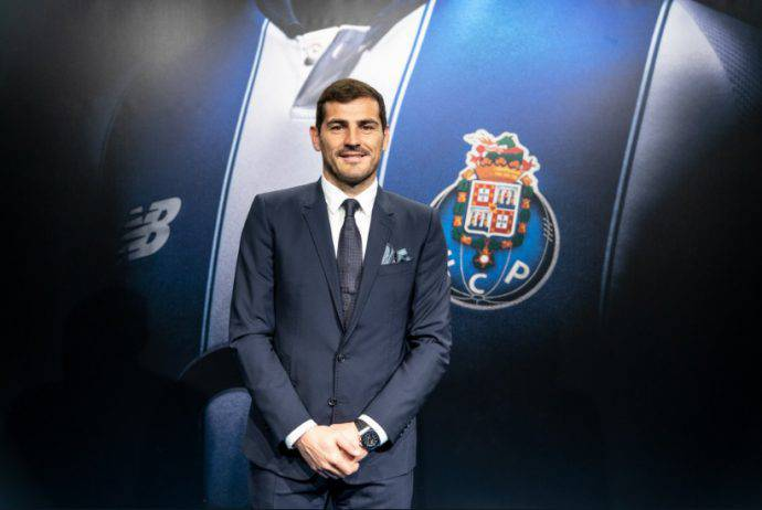 Casillas, Porto