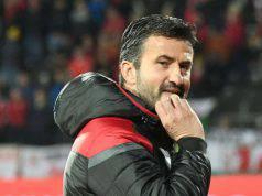 Christian Panucci Albania esonerato