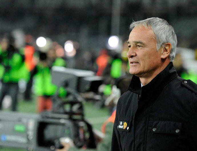 Claudio Ranieri neo tecnico della Roma