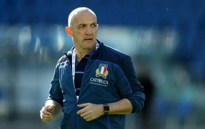 Conor O'Shea ct dell'Italia in vista della Francia