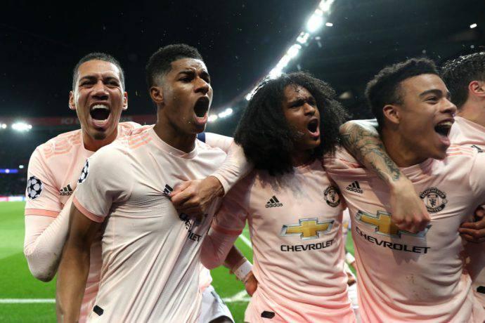 Delirio United a Parigi