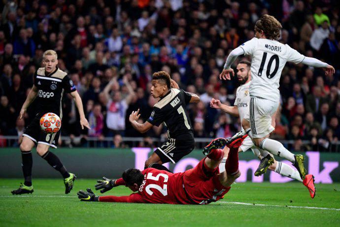 Diretta live di Real Madrid-Ajax