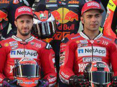 Dovizioso Petrucci MotoGP Ducati