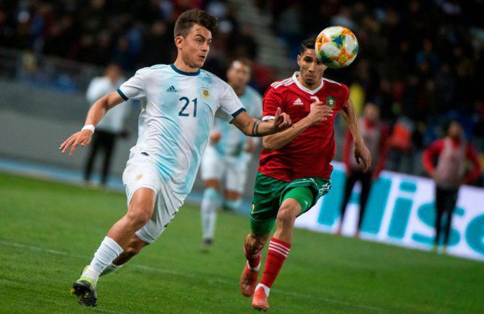 Dybala a Tangeri contro il Marocco