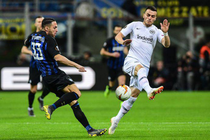 Inter Vs Frankfurt: DIRETTA LIVE, Europa League, Inter-Eintracht: La Cronaca