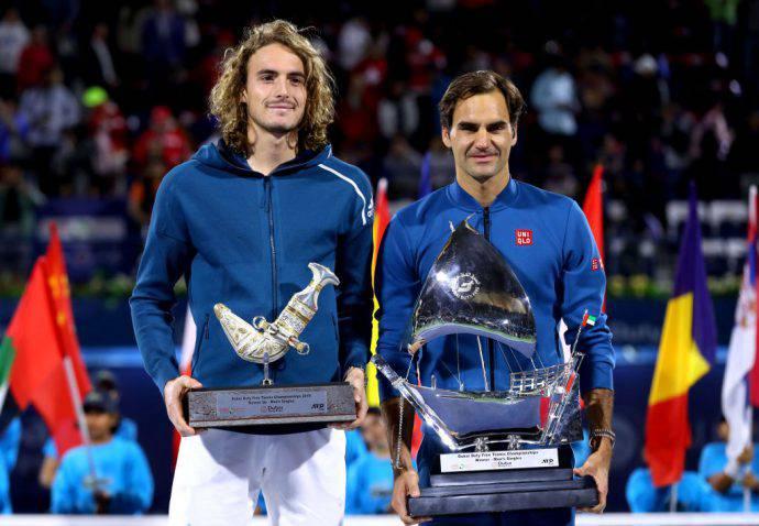 Federer primo e Tsitsipas secondo! Sono 100 per lo svizzero