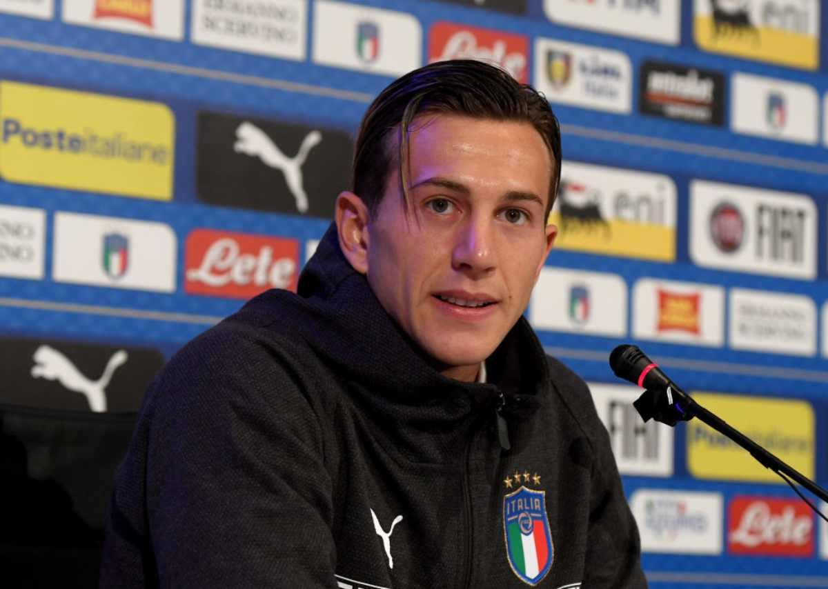 Federico Bernardeschi Italia conferenza stampa