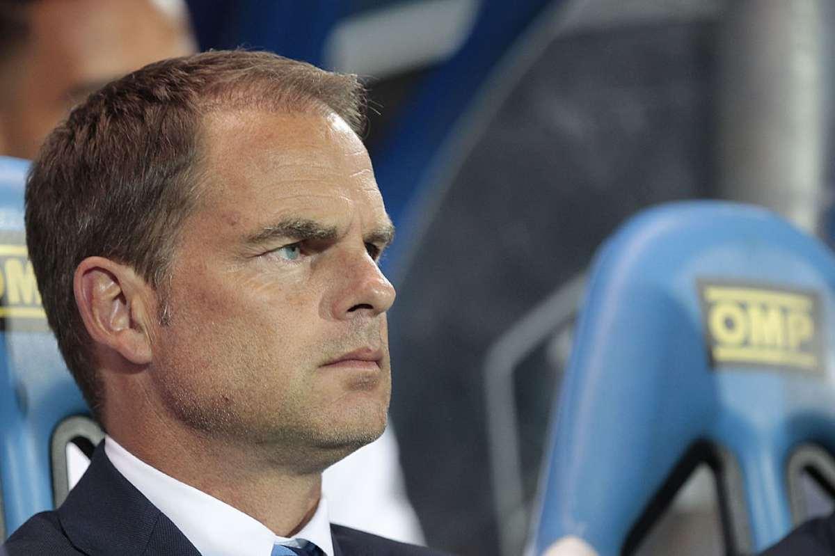 Frank De Boer attacca l'Inter