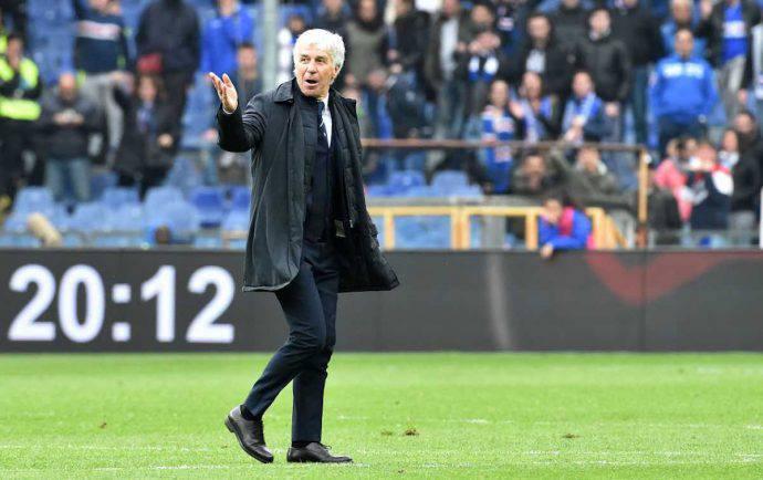 Gasperini Sampdoria atalanta