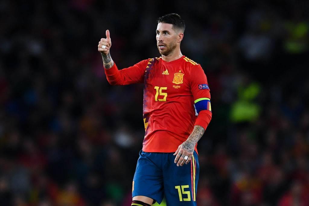 Sergio Ramos record man di vittorie con la Nazionale spagnola
