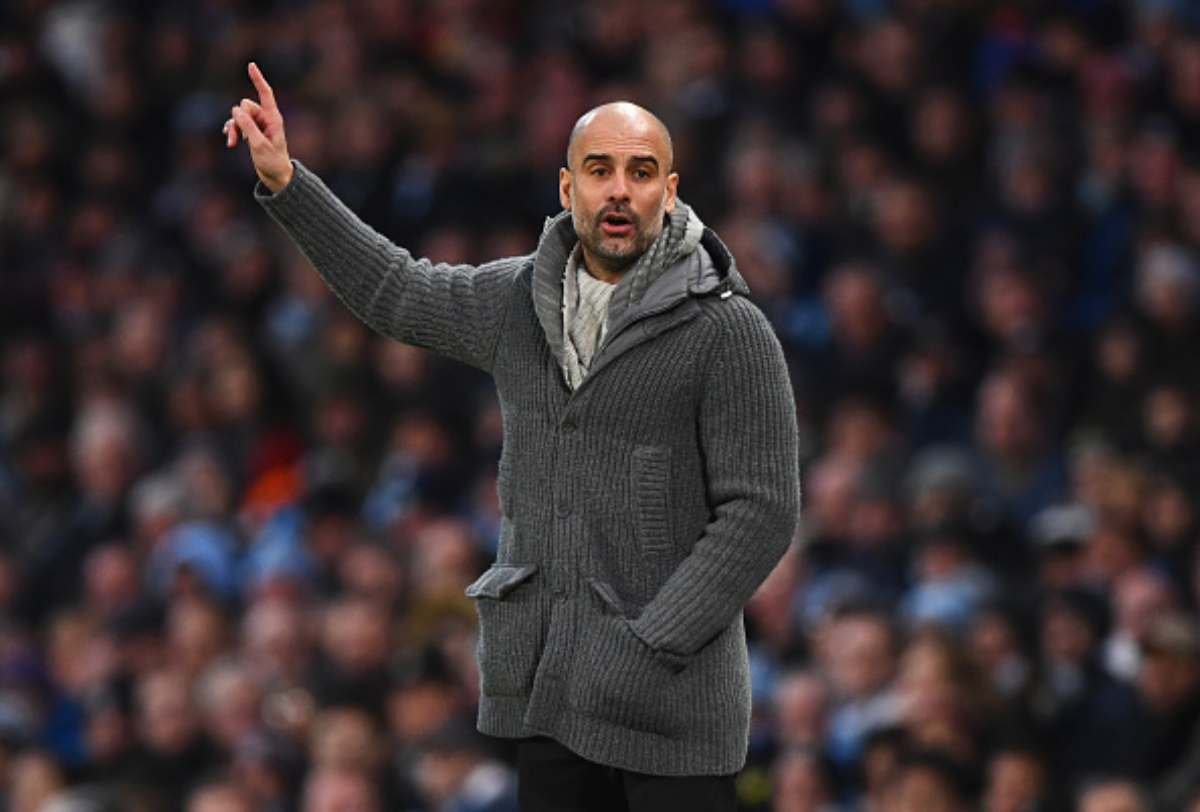 Pep Guardiola allenatore del City