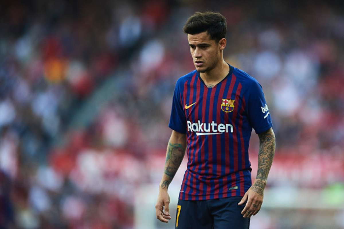 Coutinho Barcellona Manchester United