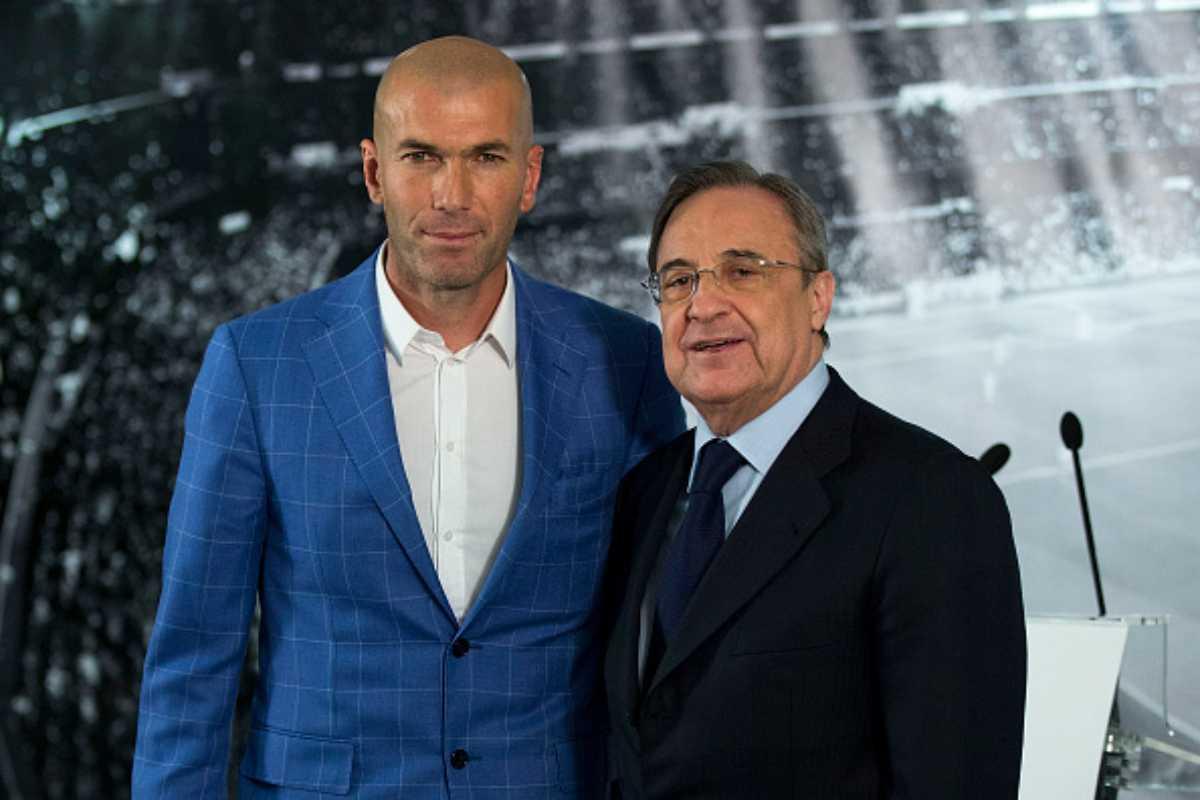 Florentino Perez Zidane Real Madrid