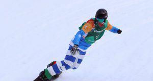 Jacopo Luchini snowboard