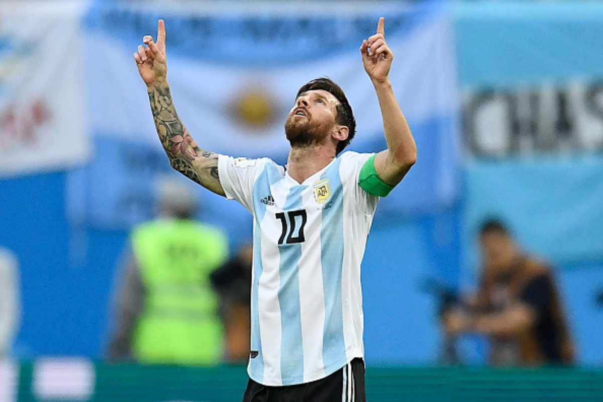 Messi Argentina Nazionale