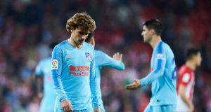 Griezmann Atletico ipotesi Manchester United