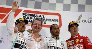 Hamilton Bottas Leclerc Formula 1 GP Bahrein 2019