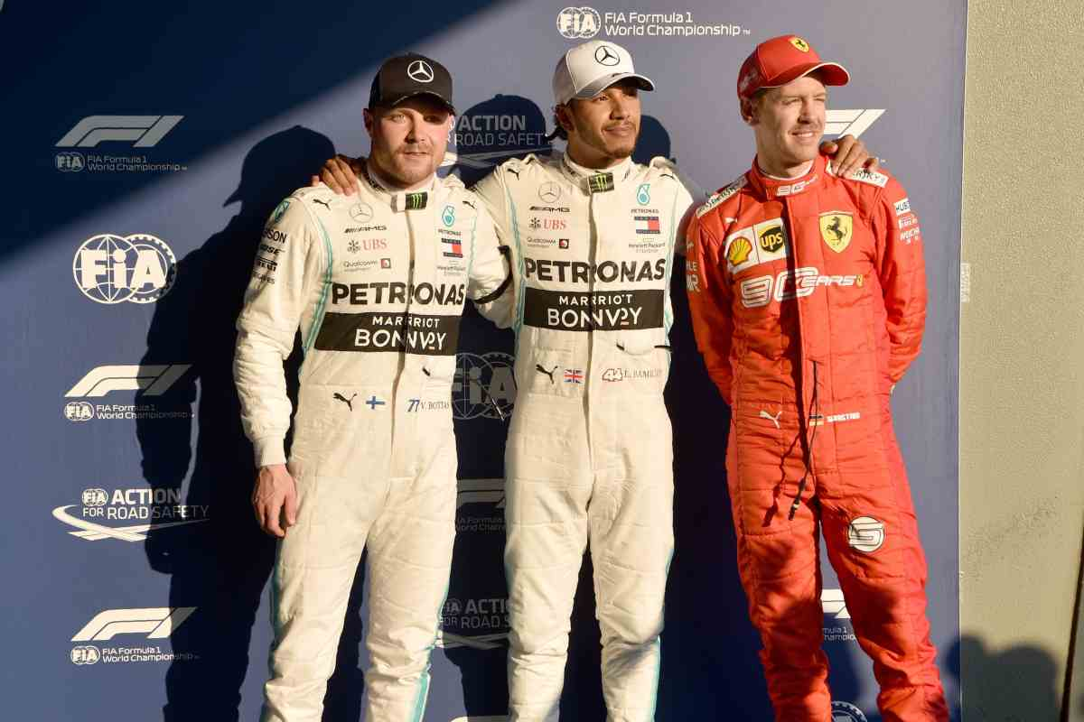 Hamilton Bottas Vettel Formula 1 2019