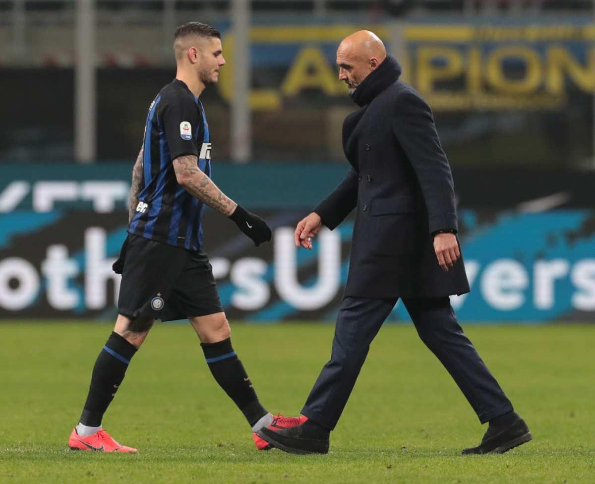 Icardi Inter scambio Lukaku Manchester United