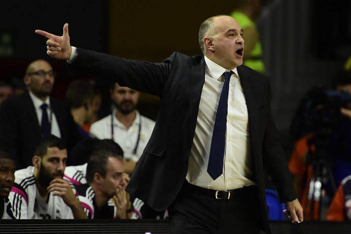 Il coach madridista Pablo Laso