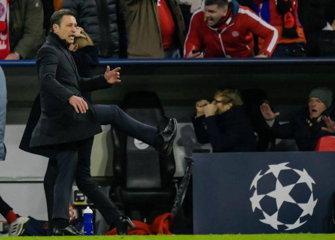 Il croato Niko Kovac deluso per l'eliminazione contro il Liverpool