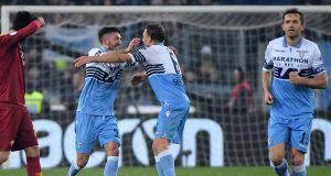 Il romano Cataldi ha segnato il 3-0 nel derby sotto la curva nord